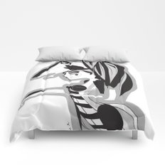 The knight - Emilie Record Comforters