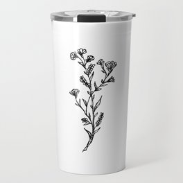 Buttercup Sprig Travel Mug