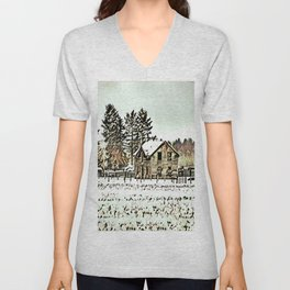 A Hazy Shade Of Winter  - Graphic 2 Unisex V-Neck
