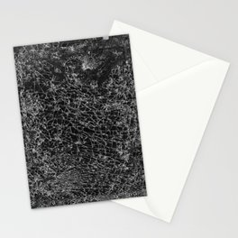 cracked cell phone #1 Stationery Cards