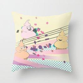 Cupcake Party! Throw Pillow