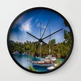 sea art Wall Clock