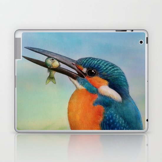 Common Kingfisher Laptop & iPad Skin