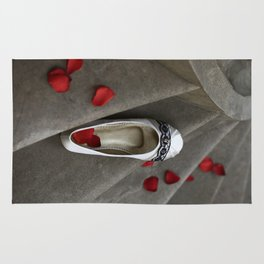 wedding shoes Rug