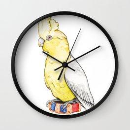 LORO AMARILLO Wall Clock