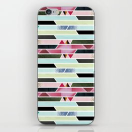 Aztec Stripe iPhone Skin