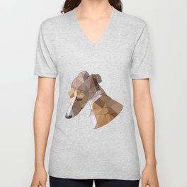 Italian Greyhound Unisex V-Neck
