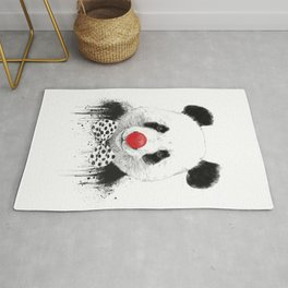 Clown panda Rug