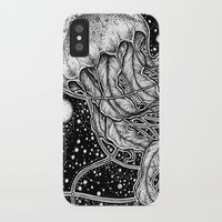 jellyfish iPhone & iPod Cases featuring Jellyfish by Corinne Elyse