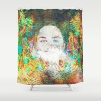 serenity Shower Curtains featuring Serenity by J.Lauren
