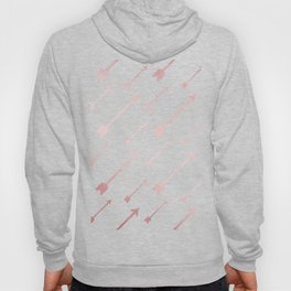 Simply Adventure Arrows in Rose Gold Sunset Hoody