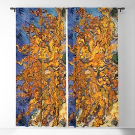 The Mulberry Tree by Vincent van Gogh Blackout Curtain