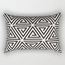 Seamless Pattern T-Shirt Rectangular Pillow
