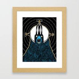 SpaceBear! Framed Art Print