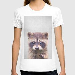 Raccoon - Colorful T-shirt