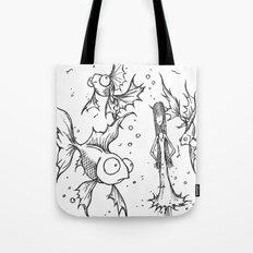 Fishfbowl dream Tote Bag