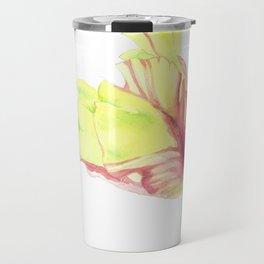 Tulip watercolor art Travel Mug