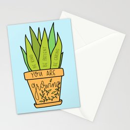 You Are Growing Stationery Cards