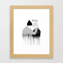 Justin B Drawing Framed Art Print