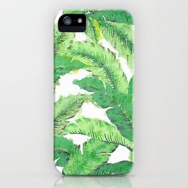 Banana for banana leaf iPhone Case