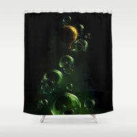 breaking Shower Curtains featuring Breaking Fears by Sachpica