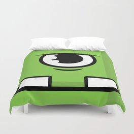 Monsters⁴ : Green Duvet Cover