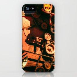 Scarlet Soviet Combine Warp iPhone Case