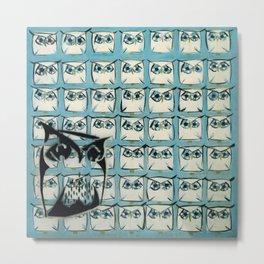Sea of owls Metal Print