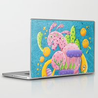psychadelic Laptop & iPad Skins featuring Psychadelic Pink by sophie gerl