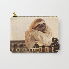 Rockstar Sloth Carry-All Pouch