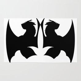 Dragon Silhouette Rug