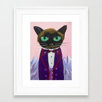budapest hotel Framed Art Prints featuring Budapest by Alia13
