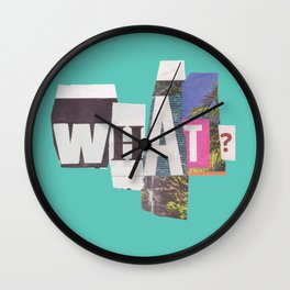 What? Wall Clock