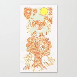 Fauns Annual Harvest Party! Canvas Print
