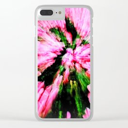 power spring is coming Clear iPhone Case