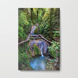Valley of 33 waterfalls Metal Print