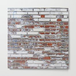 Bricks of Brooklyn Metal Print