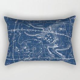 Taurus sky star map Rectangular Pillow