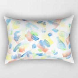 180527 Abstract Watercolour 1  Watercolor Brush Strokes Rectangular Pillow