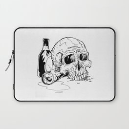 Skull Abuse  Laptop Sleeve