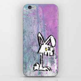 Bunny Zombie iPhone Skin