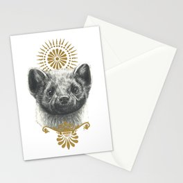 Beasts of the forest: Pine Marten Stationery Cards