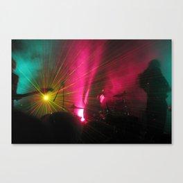 STRFCKR concert lasers Canvas Print