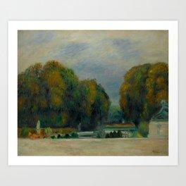"""Pierre-Auguste Renoir """"Versailles"""" Art Print"""