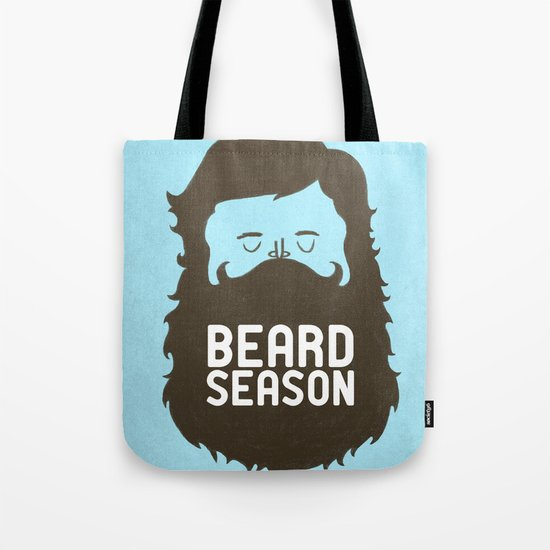 Beard Season Tote Bag
