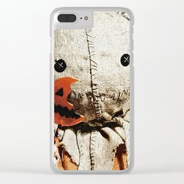 Sam - Trick 'r Treat Clear iPhone Case