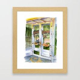 OLD SCOTT'S HILL GROCERY Framed Art Print