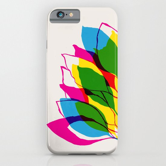 Blossom CMYK iPhone & iPod Case