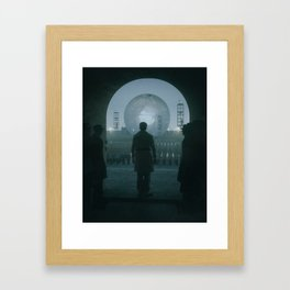 CONSTRUCT (everyday 06.09.17) Framed Art Print