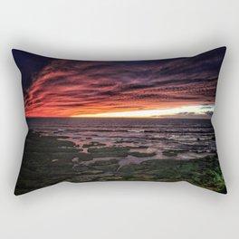 OB Sunset, San Diego Rectangular Pillow
